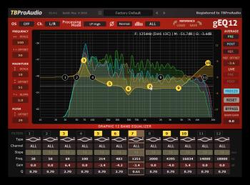 TBProAudio gEQ12 v2.0.1 Incl Cracked and Keygen-R2R screenshot