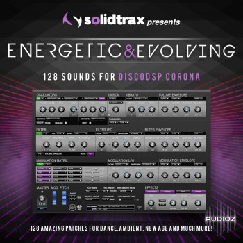 Solidtrax Energetic And Evolving SOUNDSET FOR DiSCO DSP CORONA [FREE] screenshot
