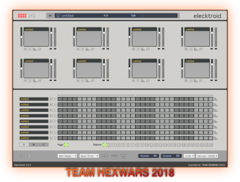 AudioSpillage Elecktroid v1.0.3 MacOSX Incl. Keygen - HEXWARS screenshot