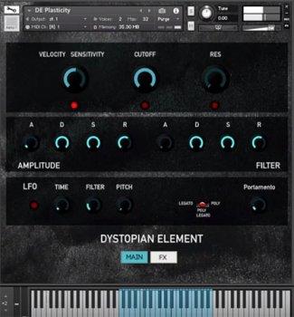 Rast Sound Dystopian Element KONTAKT WAV screenshot