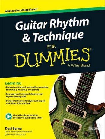 download desi serna guitar rhythm and technique for dummies audioz. Black Bedroom Furniture Sets. Home Design Ideas