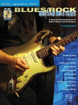 Hal Leonard Blues Rock Guitar Masters Signature Licks PDF MP3 screenshot