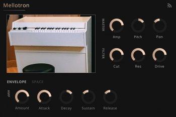 Noiiz Mellotron for Noiiz Player-SYNTHiC4TE screenshot