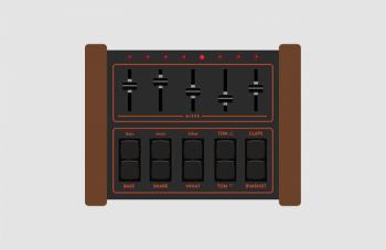ELPHNT: LM-1 Drum Machine Rack for Ableton [FREE] screenshot