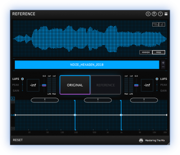 Mastering The Mix REFERENCE v1.0.2 MacOSX - HEXWARS screenshot