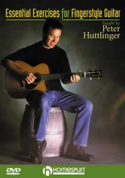 Homespun Essential Exercices for Fingerstyle Guitar with Peter Huttlinger AVI PDF screenshot