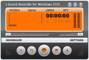 Abyssmedia i-Sound Recorder for Windows 7.7.1.0 screenshot