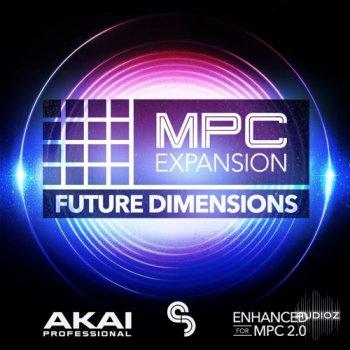 AKAI MPC Software Expansion Future Dimensions v1.0.2 Standalone Export WAV screenshot
