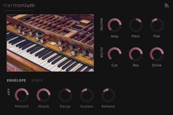 Noiiz Harmonium for Noiiz Player screenshot