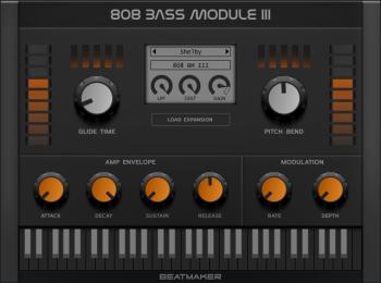 BeatMaker 808 Bass Module 3 v3.0.1 VST VST3 AU MAC/WiN screenshot