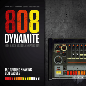 BeatMaker 808 Dynamite Expansion for 808 Bass Module III-SYNTHiC4TE  screenshot
