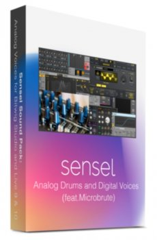 Sensel Analog Drums and Digital Voices MULTiFORMAT [FREE] screenshot