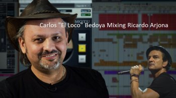 PUREMIX: Carlos El Loco Bedoya Mixing Ricardo Arjona TUTORiAL screenshot