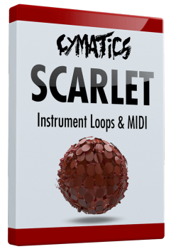 Cymatics Scarlet Instrument Loops & MIDI WAV MiDi screenshot