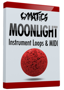 Cymatics Moonlight Instrument Loops & MIDI WAV MiDi screenshot