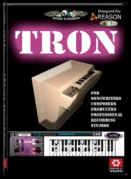 AudioWarrior Tron Mello-Rack Reason REFiLL screenshot