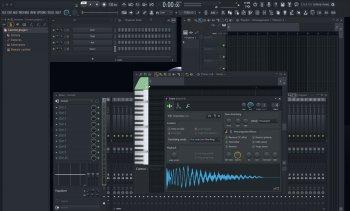 Fl Studio 20.0.4.629 MidNight Skin update - WIN screenshot