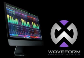Tracktion Software Waveform v9.3.4 MacOSX screenshot