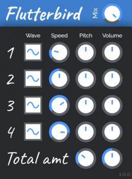 Tesselode Flutterbird v1.0.1 X64 X86 VST WiN [FREE] screenshot
