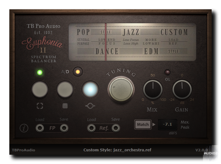 Download TBProAudio Euphonia 2 v2 0 2 Incl Cracked and Keygen-R2R
