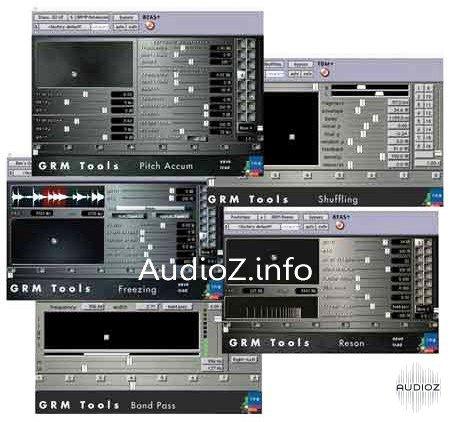 Download GRM Tools Classic Bundle VST v1 6-H2O » AudioZ