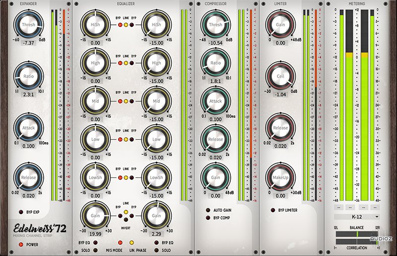 REQ: Black Rooster Audio 2.3.0 Plugin Pack [MacOS] screenshot