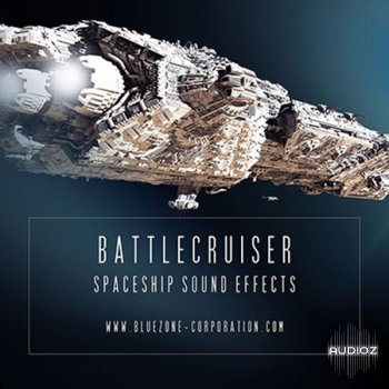 Bluezone Corporation Battlecruiser Spaceship Sound Effects WAV screenshot