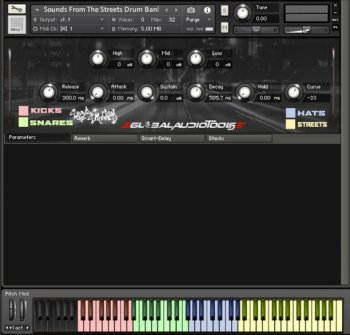 Global Audio Tools Sounds From The Streets Vol.1 WAV KONTAKT [FREE] screenshot