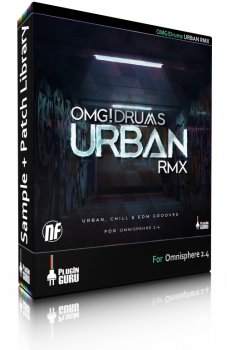 PluginGuru OMG! Drums URBAN RMX for Omnisphere 2-SYNTHiC4TE screenshot