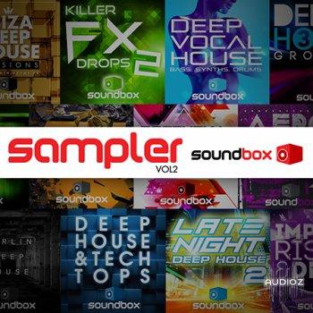 Soundbox Label Sampler 2 WAV screenshot