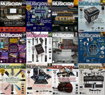 Electronic Musician - 2018 Full Year Issues Collection screenshot