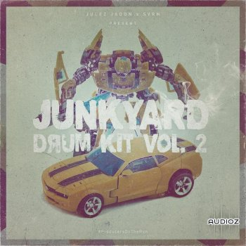 Julez Jadon Junkyard Drum Kit Vol 2 WAV-SYNTHiC4TE screenshot