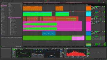 Ableton Live 10 Theme OTR Dark ASK screenshot