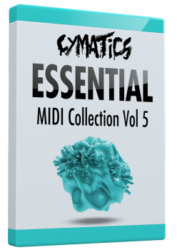 Cymatics Essential MIDI Collection Vol.5 MIDI screenshot