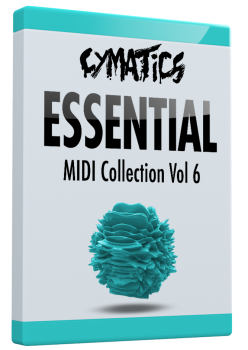 Cymatics Essential MIDI Collection Vol.6 MIDI screenshot