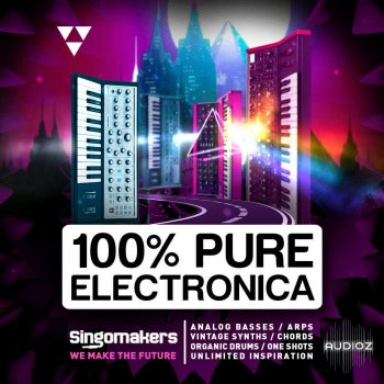 Singomakers 100% Pure Electronica WAV REX screenshot