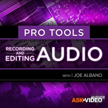 Ask Video Pro Tools 103 Recording and Editing Audio Video TUTORiAL screenshot