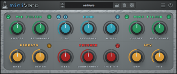 AudioThing miniVerb v1.0.0 Incl Patched and Keygen-R2R screenshot