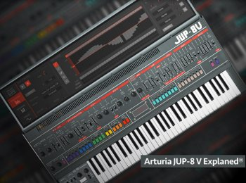 Groove3 Arturia Jup-8 V Explained TUTORiAL-SYNTHiC4TE screenshot