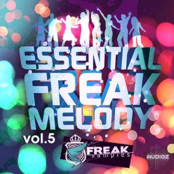 Freak Samples Essential Freak Melody Vol.5 MIDI screenshot