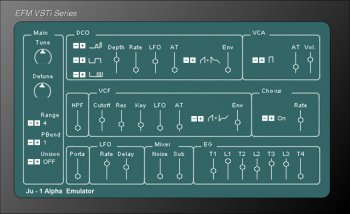 EFM Alpha v0.53 X86 VST WiN [FREE] screenshot