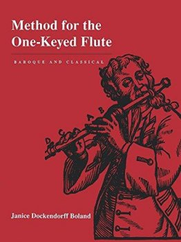 Janice D Boland Method for the One-Keyed Flute Baroque and Classical PDF screenshot