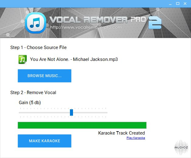 Download Vocal Remover Pro 2 0 Portable » AudioZ