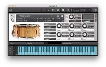 Puremagnetik Snare Designer FOR ABLETON LiVE LOGiC KONTAKT [FREE] screenshot