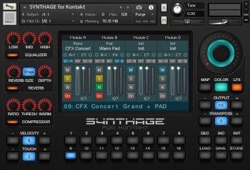 Pré-venda Synthage v1.1 For KONTAKT screenshot