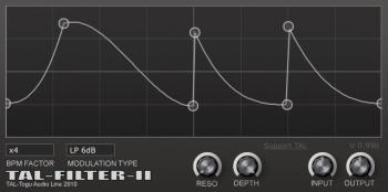 Togu Audio Line TAL-Filter-2 v2.2.1 x64 x86 VST AU AAX WiN MAC [FREE] screenshot