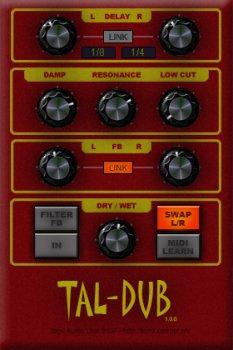 Togu Audio Line TAL-Dub x64 x86 VST AU WiN MAC [FREE] screenshot