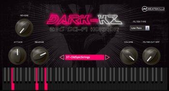 BeatSkillz Dark KZ VST AU v1.0 MAC/WiN screenshot