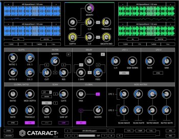 Glitchmachines Cataract VST AU v1.1 MAC/WiN screenshot