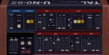 Togu Audio Line TAL-U-No-62 x64 x86 VST AU WiN MAC [FREE] screenshot